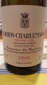 Martray Corton Charlemagne 1999 #1
