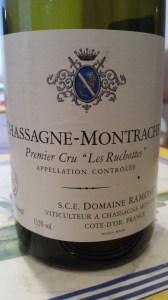 Ramonet Chassagne Ruchottes 2010