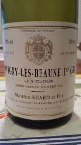 Ecard Savigny Cloux 1999