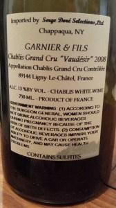 Garnier Vaudesir 2008 #1