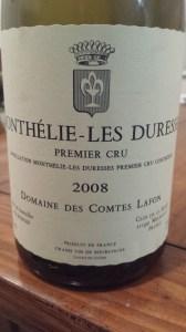 Lafon Monthelie Duresses 2008