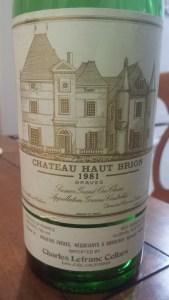 Haut Brion 1981