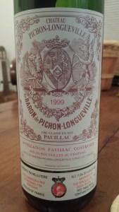 Pichon Baron 1999