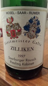 Zilliken Saarburger Rausch Kabinett 1997