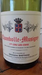 Barthod Chambolle Cras 1995