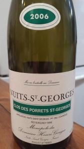 Henri Gouges Nuits Porrets 2006