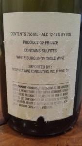 Boisson Vadot Bourgogne Blanc 2010 #1