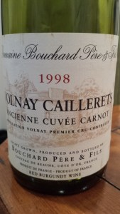Bouchard Volnay Caillerets 1998 #2