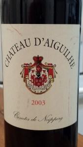 D'Aiguilhe 2003