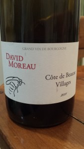 David Moreau Cote de Beaune Villages 2011 #1