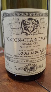 Jadot Corton Charlemagne 1985