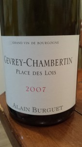Burguet Place Des Lois 2007 #1