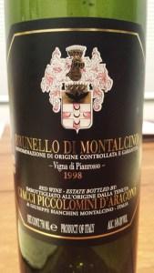 Ciacci Pianrosso 1998