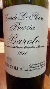 Poderi Colla Barolo Bussia 1997