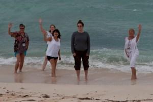 IFWTWA Writers at Bohio Dive Resort, Grand Turk