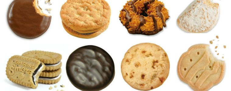 WINEormous Girl Scout Cookies