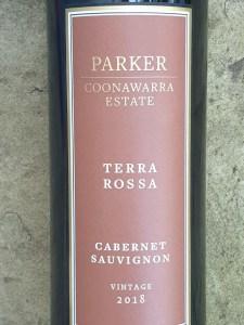 Parker Coonawarra Estate Terra Rossa Cabernet Sauvignon 2018