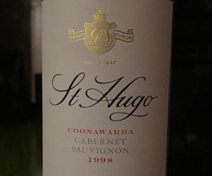 St Hugo Coonawarra Cabernet 1998