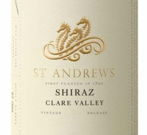 Taylors St Andrews Clare Valley Shiraz 2017