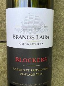 Brand's Laira Blockers Coonawarra Cabernet Sauvignon 2016