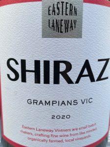 Eastern Laneway Vintners Grampians Shiraz 2020