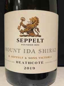 Seppelt Mount Ida Heathcote Shiraz 2019