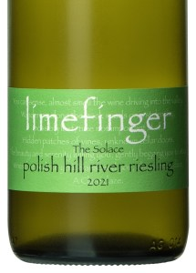 Limefinger The Solace Polish Hill River Riesling 2021