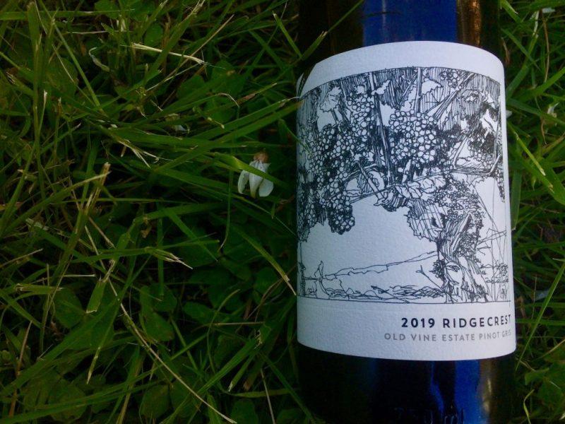 2019 Ridgecrest Old Vine Estate Pinot gris