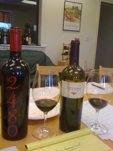 Hollywood and Vine 2480 and Revana Cabernet Sauvignon