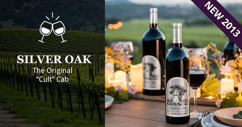 Silver Oak Cellars | The Original Cult Cabernet