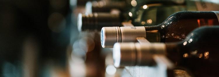 Winemaking - Wine Bottles in a cellar