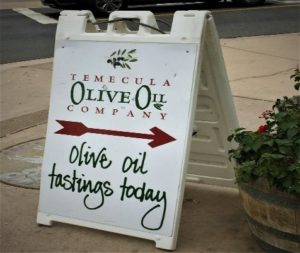 Temecula Olive Oil Tastings