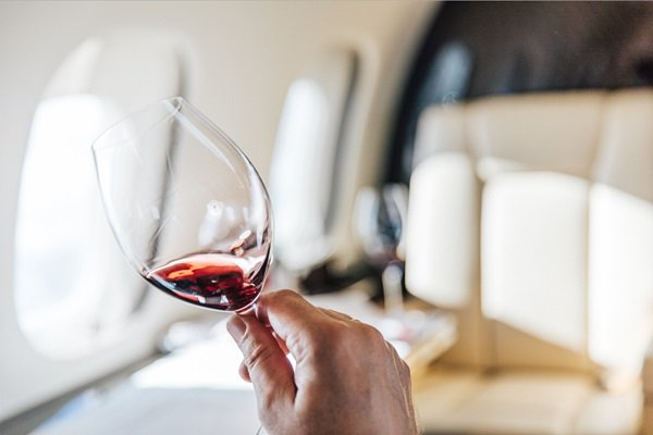 """VistaJet's newest in-flight service is nothing to """"wine"""" about"""