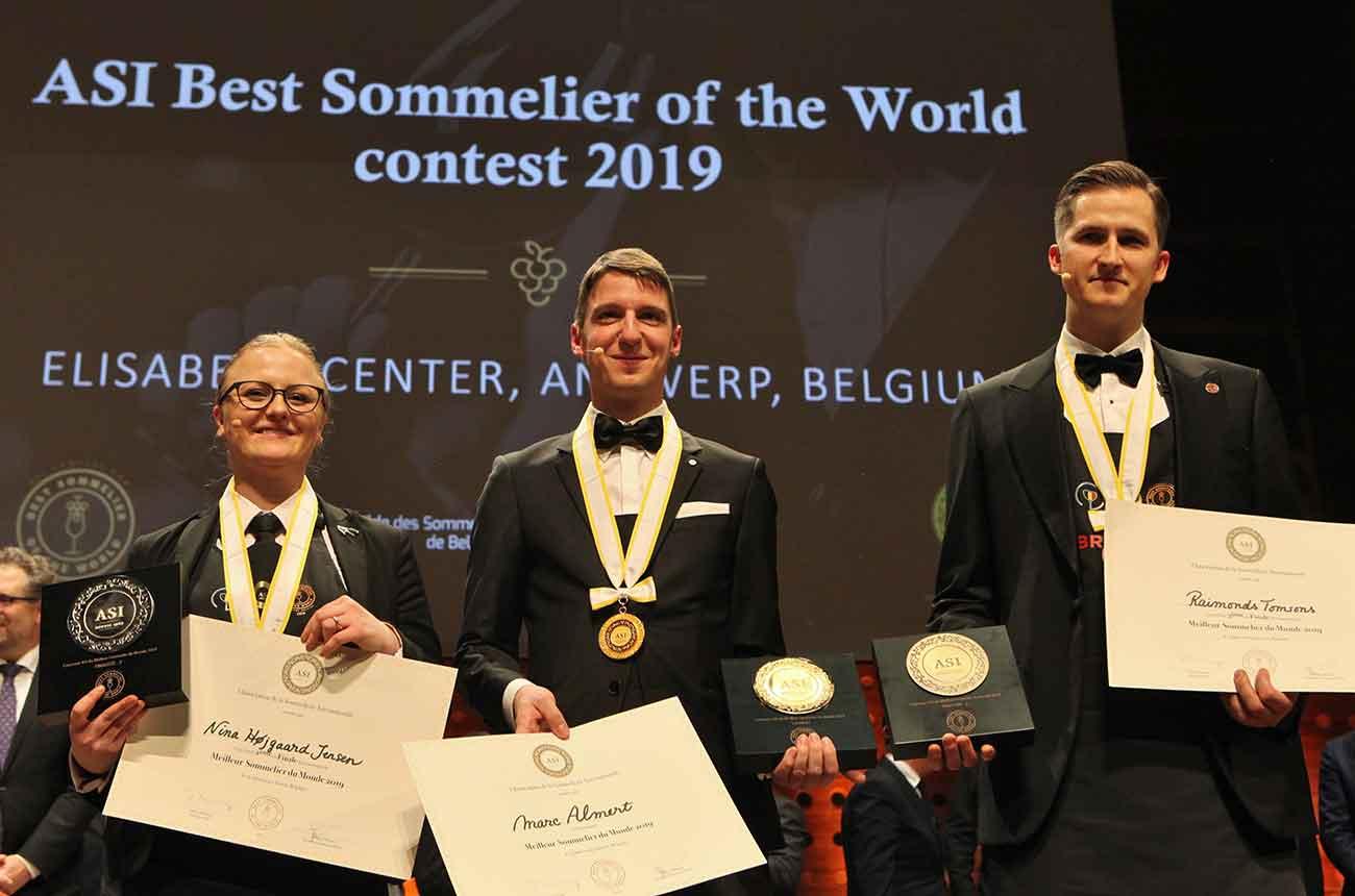 Meet the world's best sommelier winner: Marc Almert