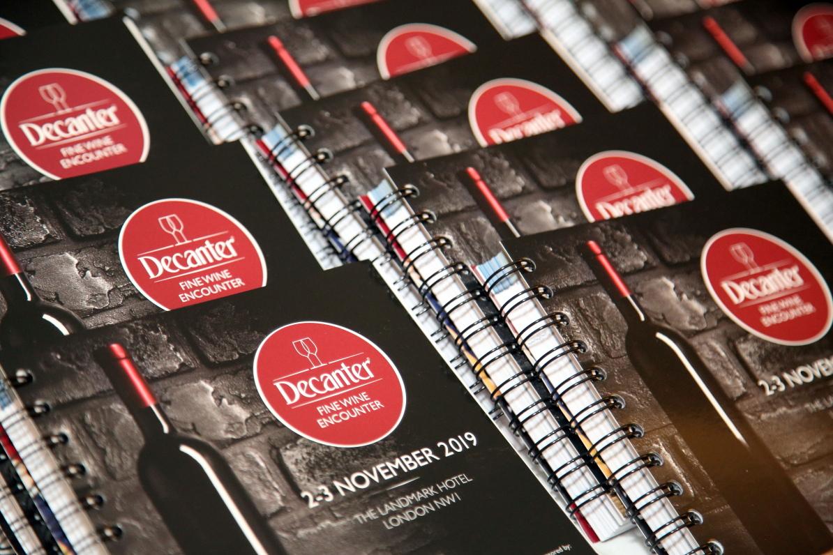 Photo highlights: Decanter Fine Wine Encounter 2019
