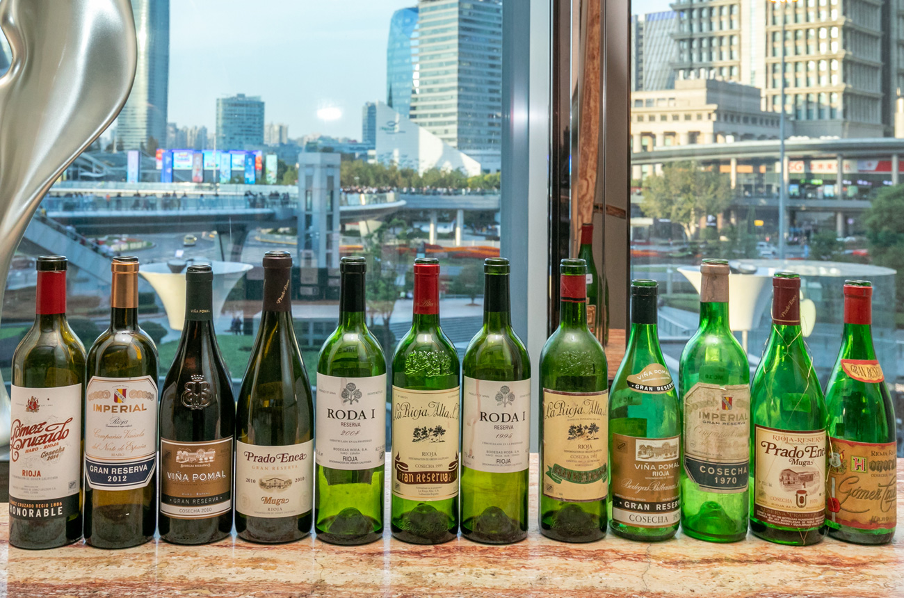 Twelve top Rioja wines from Haro Station District – masterclass