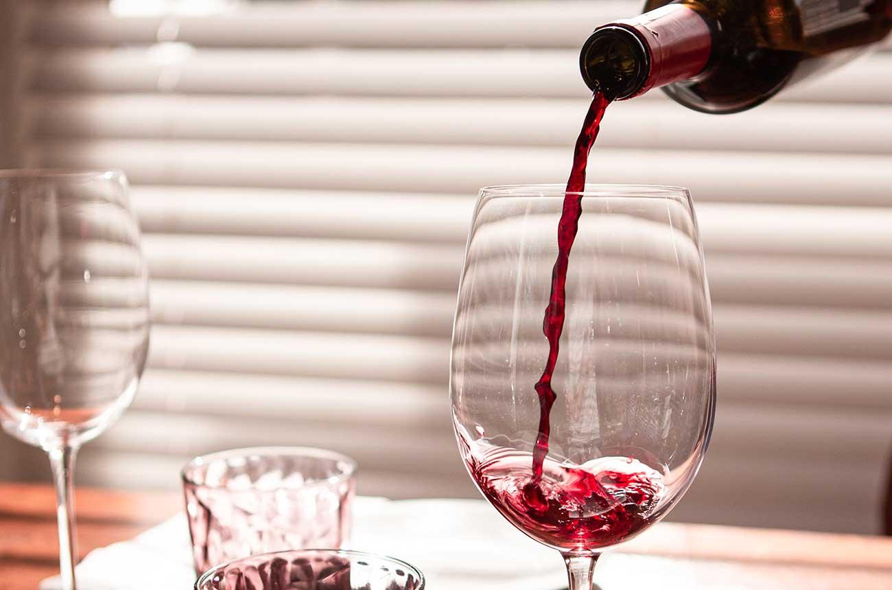 Drinking wine is a lockdown treat, says survey