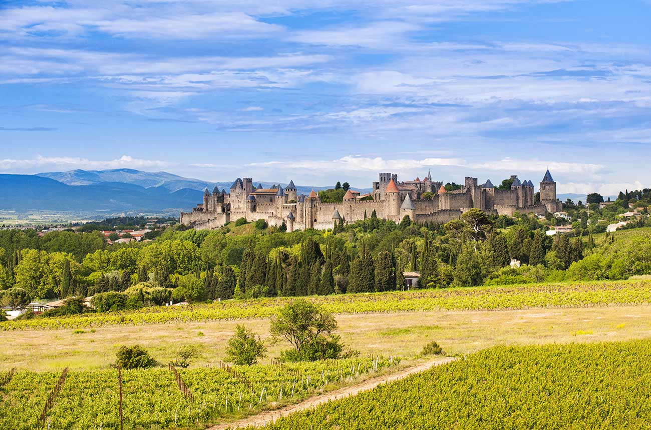 How much do wine estates cost in the south of France?