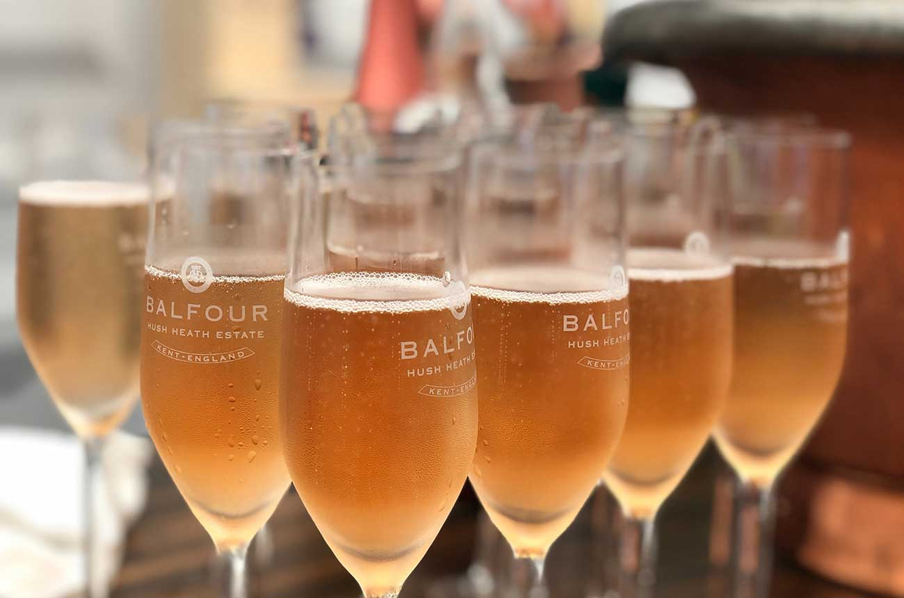 World gets a taste for English wine as exports soar