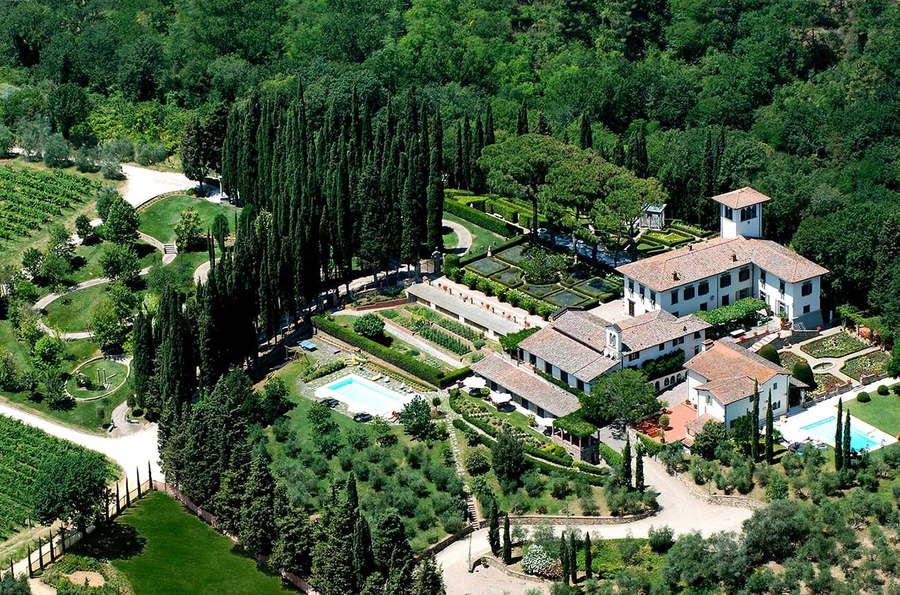 Historic estate for sale in Chianti Classico country