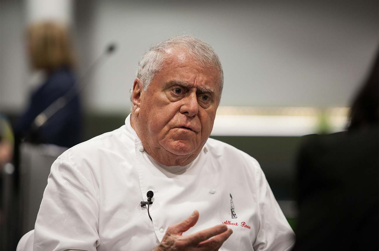 Tributes paid to celebrated chef Albert Roux