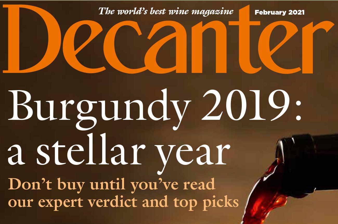 Decanter magazine latest issue: February 2021