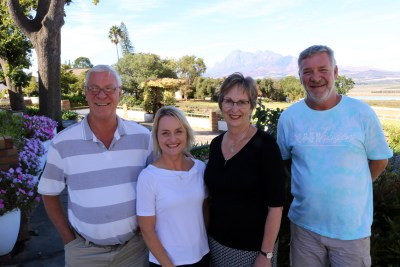 De Villiers Family active in the Business