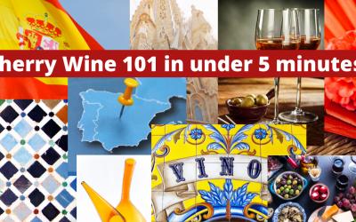 Sherry wine 101 in under 5 minutes!