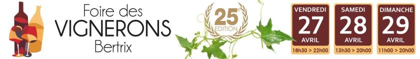 Bertrix 2018 - Banner foire des vignerons