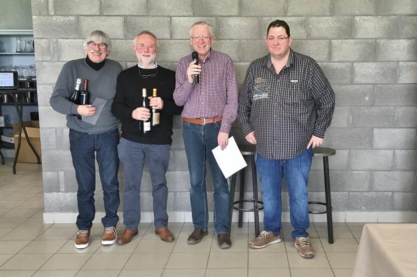 Les vainqueurs du Vinobby Masters 2019 – Eric Baijot et Jacky Camus