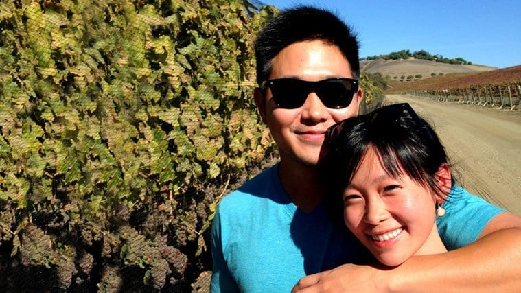 Couple In The Vines