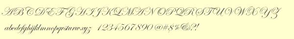 edwardian font