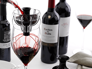 choosing a wine aerator