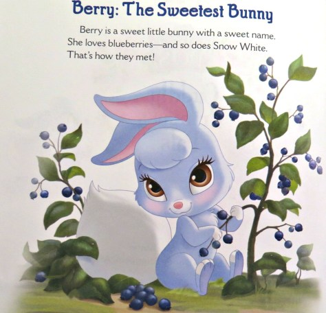 Berry's pretty cool but I have to think an animal that obsessed with fiber-tastic blueberries is probably a disaster to clean up after.